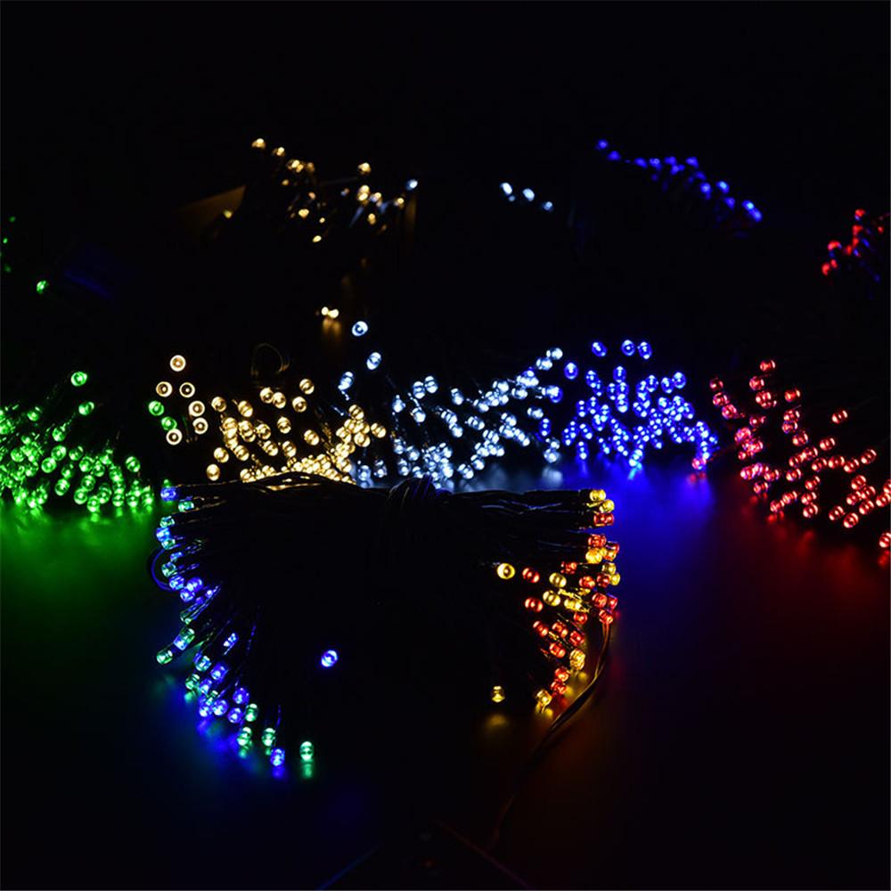 20m 100led Solar Garden Decoration String Light Lamp For