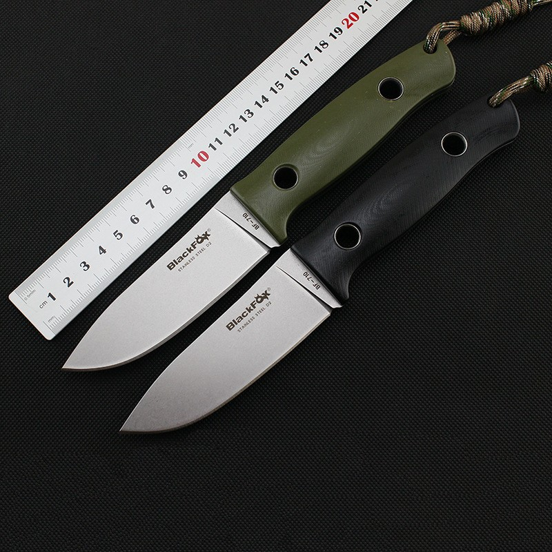 Buy New tactical camping straight knife D2 Blade G10 Handle fixed blade knife hunting survival knives gift EDC hand tools cheap
