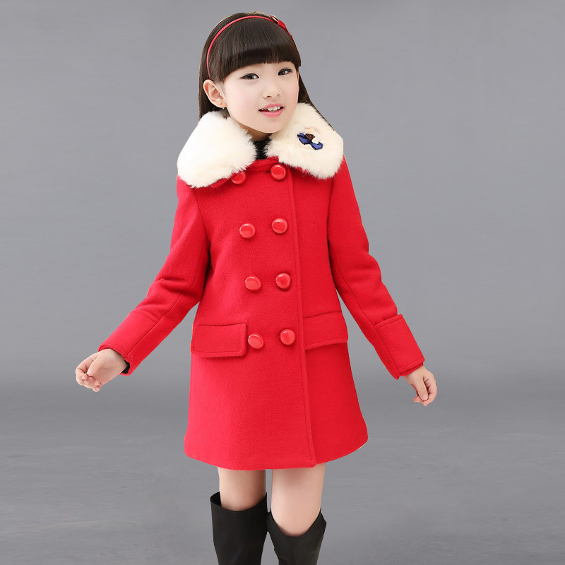 Online Buy Wholesale girls red winter coats size 8 from China