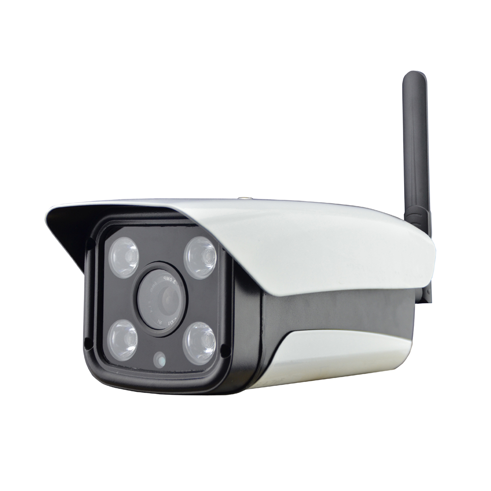 Latest Version of 4G Mobile Bullet Camera with HD 720P Video Transmission via 4G Network & Cloud Server for Remote Recording