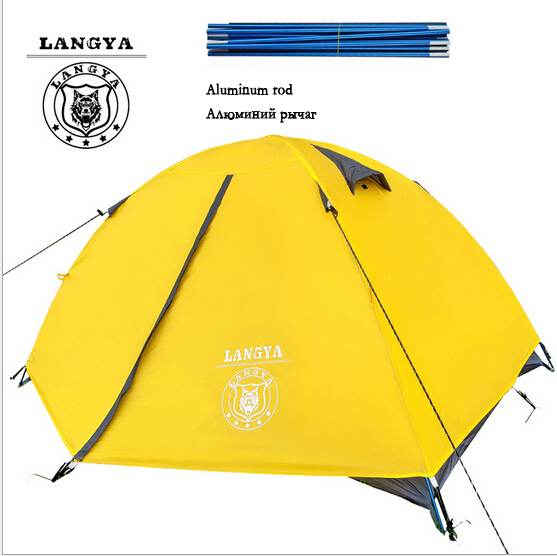 tent tourist double layer Equipment for Alpinism to rest free outdoors camp cheap camping tents travel 2 person ultralight<br><br>Aliexpress