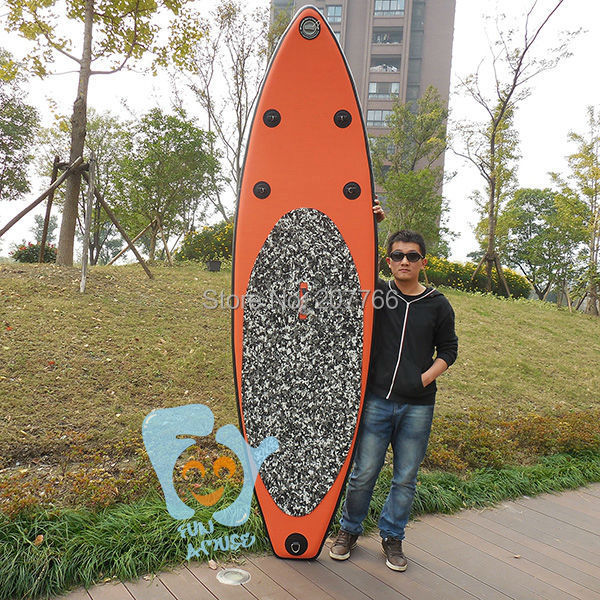 """9 foot (274cm) Inflatable Stand Up Paddle Board SUP Paddle Board 30 Inch Wide 76cm 4"""" Thick Load 105KGS Model EJ(China (Mainland))"""
