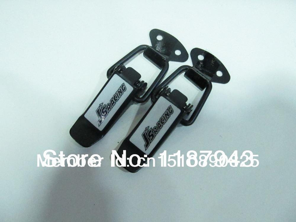 Small Size Universal Clip/Plus flush kit type/Hood lock pin/hood pins/hood pin kit/hood pins lock/ J'S - GXGAUTOTRADING store