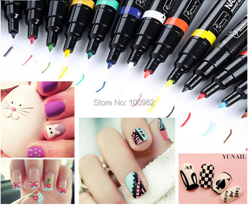 Style Me Up Nail Art Pens: Nuthin but a nail thing barry m art pens.