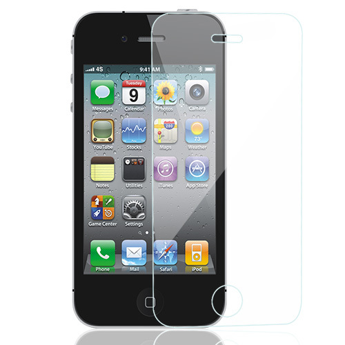 Tempered glass 0.26mm For iPhone 4 4S Screen Protector GLAS.t SLIM Led Phone Protective film(China (Mainland))