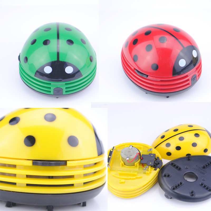 Mini Keyboard Cleaner Robot Computer Vacuum Cleaner Dust Collector Beetle Clean Tool Cleaning Keyboard Electric Battery Operated(China (Mainland))
