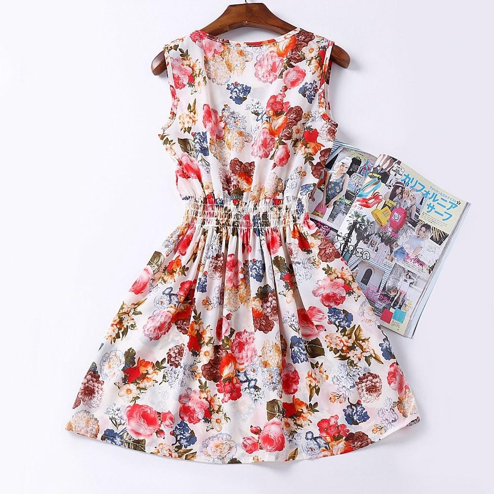 Vestido Florido aliexpress