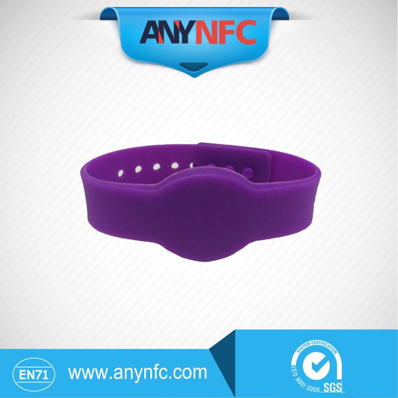 6 pcs lot Hot Sale RFID Bracelet Wristband MF1KS50 Proximity Waterproof Silicone NFC Smart Watch