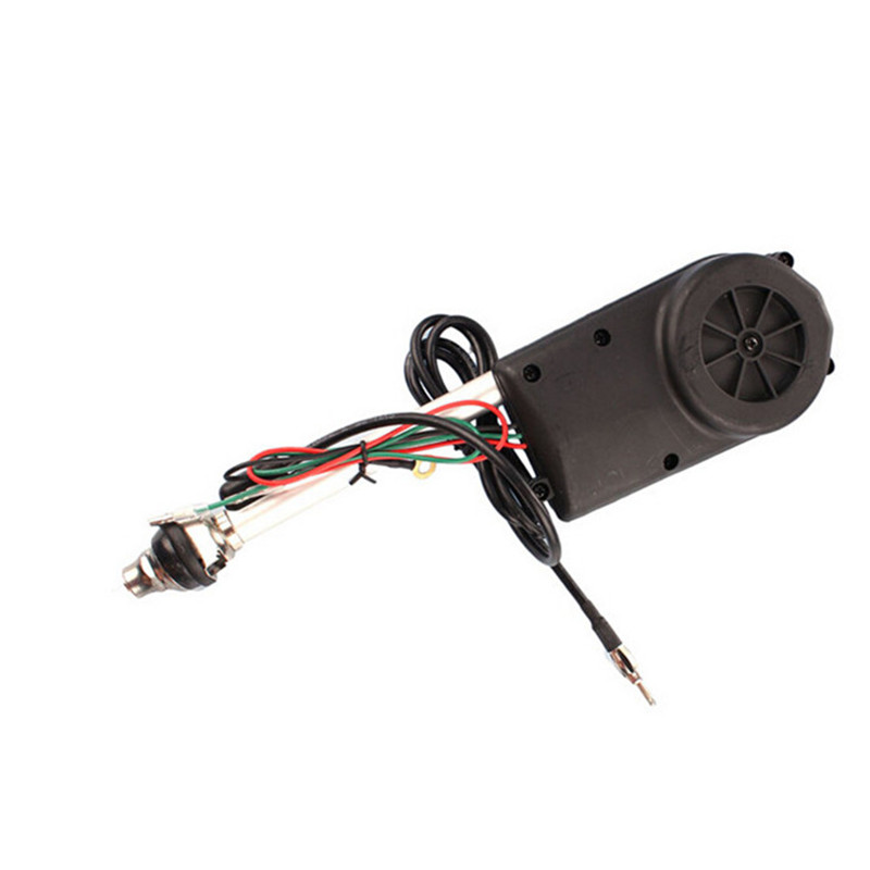 Car Electric Automatic Radio Antenna Mast Aerial Lift Remote Control AM/FM Universal For Volkswagen VW BMW Honda Toyota Skoda(China (Mainland))