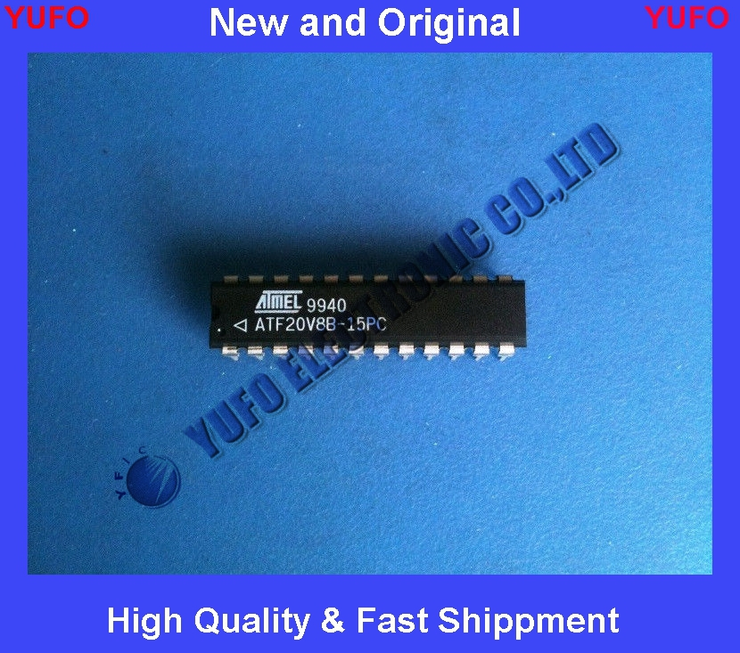 Free Shipping ATF20V8B-15PC ATMEL Erasable Programmable Logic Device 15NS 24 PIN DIP(China (Mainland))