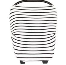 Baby Stripe Flexible Baby Car Seat Trolley Cover Heart Printing Cotton Mom Nursing Cover Pendant(China (Mainland))