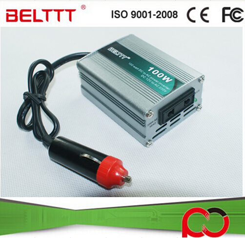 China Supplier 100W Mini Size Off Grid DC to AC Car Power Inverter(China (Mainland))