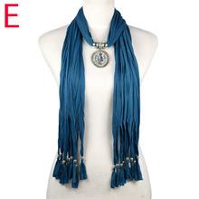 wholesale pendant scarf necklace
