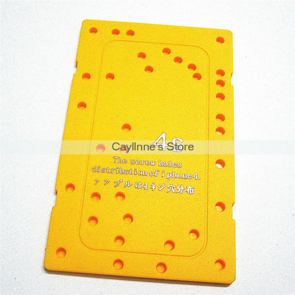 100pcs/Lot New Screw Hole Distribution for iPhone 4S Memory Location Board Free DHL