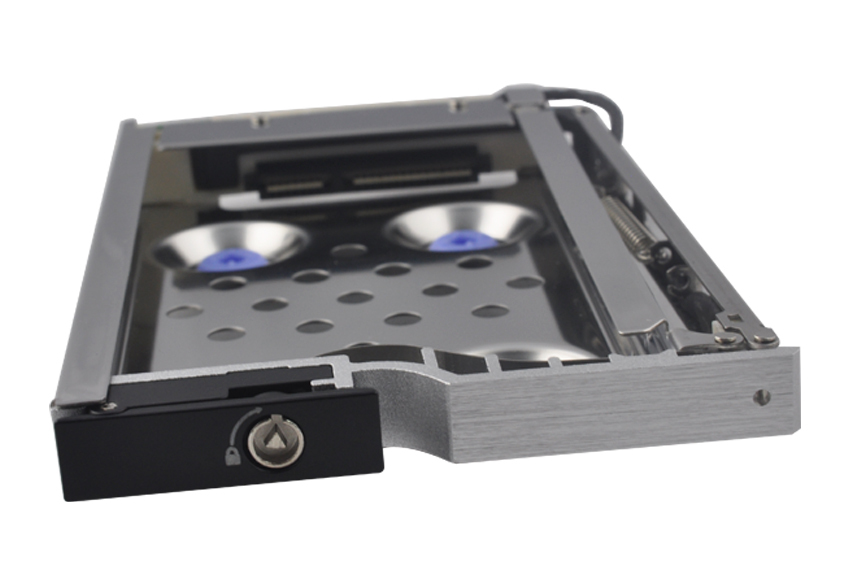 2.5in single bay Anti-Vibration proof SATA HDD mobile rack hdd caddy hdd case(China (Mainland))