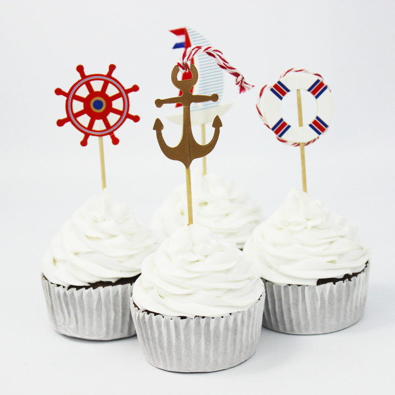 Online buy wholesale anchor party favors from china anchor for Anchor decoration party