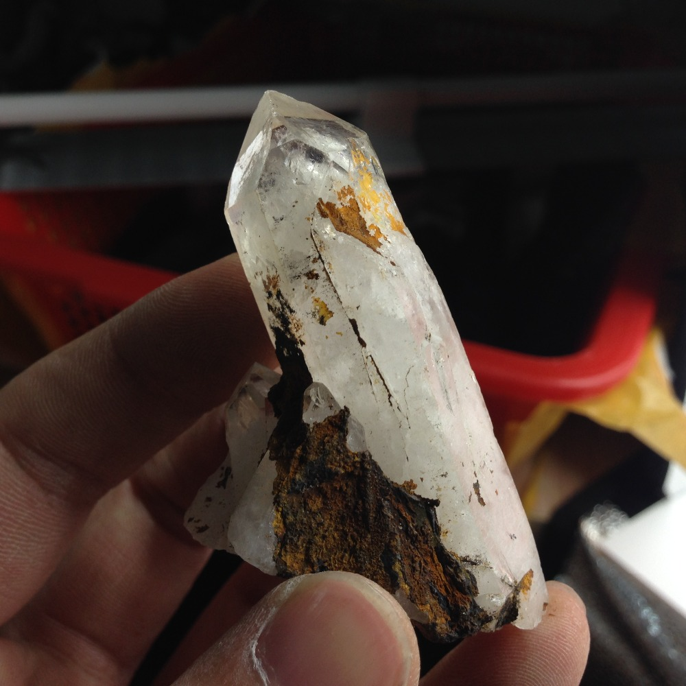 TT440, 48g Natural Stone Minerals Clear Quartz Healing Point Cluster Specimen Rough Quartz Cristals feng shui mine