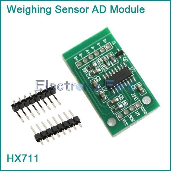 Гаджет  HX711 Weighing Sensor Dual-Channel 24 Bit Precision A/D Module Pressure Sensor None Электронные компоненты и материалы