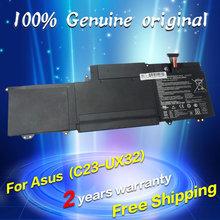 Free shipping C23-UX32 Original laptop Battery For Asus VivoBook U38N U38K U38DT for Zenbook UX32 UX32VD UX32LA 7.4V 48WH