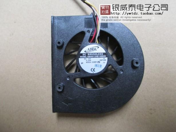 ADDA AB06812HB14BB00 Aopen DE5100 12V new original projector machine temperature control fan(China (Mainland))