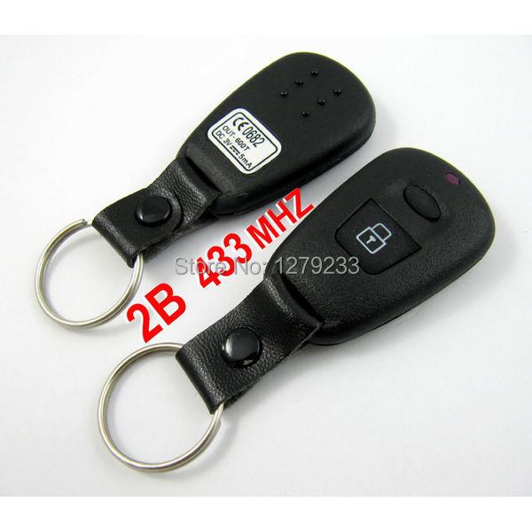 High quality  free shipping 2 Buttons Remote Key (433MHz) for Hyundai Old Elantra Santa Fe<br><br>Aliexpress