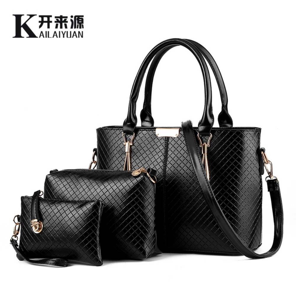 KLY 100% Genuine leather Women handbags 2016 NewEurope and the United States Air stereotypes fashion Messenger Shoulder Handbag(China (Mainland))