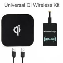 Buy Universal Qi Wireless Charging Kit Charger Wireless Pad Coil Receiver Samsung LG THL Honor Xiaomi Micro USB Android Phones for $9.90 in AliExpress store