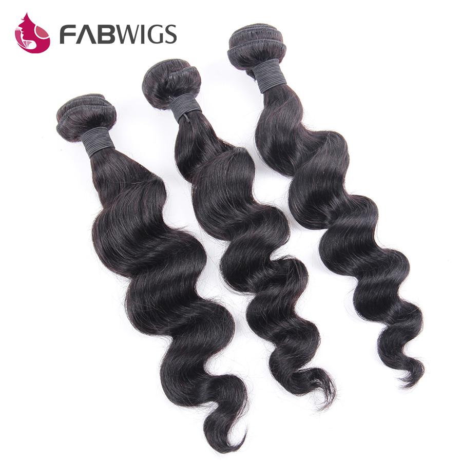 Brazilian Virgin Hair Loose Wave Brazilian Wavy Virgin Hair 3pcs LOT Unprocessed Human Virgin Hair Weave Bundles Deep Extensions