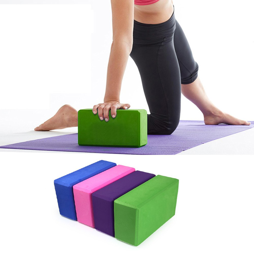 EVA Yoga Blocks Bricks Foaming Foam Home Exercise Fitness Health Gym Practice Tool 23*15*7.5(China (Mainland))