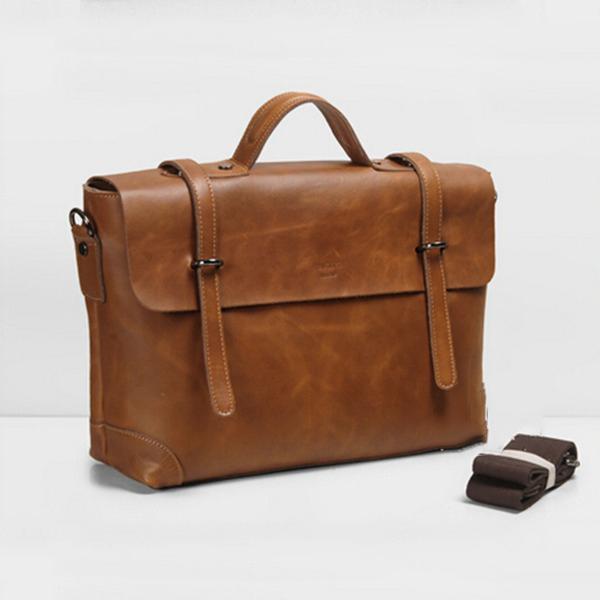 Brand new men genuine leather handbags british restore ancient ways bags men messenger bags men business shoulder bags