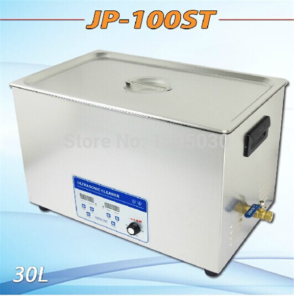 1pc Promotion globe Ultrasonic Cleaner 30L industrial Equipment Stainless Steel Cleaning Machine free shipping by DHL JP-100ST(China (Mainland))