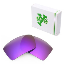 MRY POLARIZED Replacement Lenses for Oakley Eyepatch 1&2 Sunglasses Plasma Purple