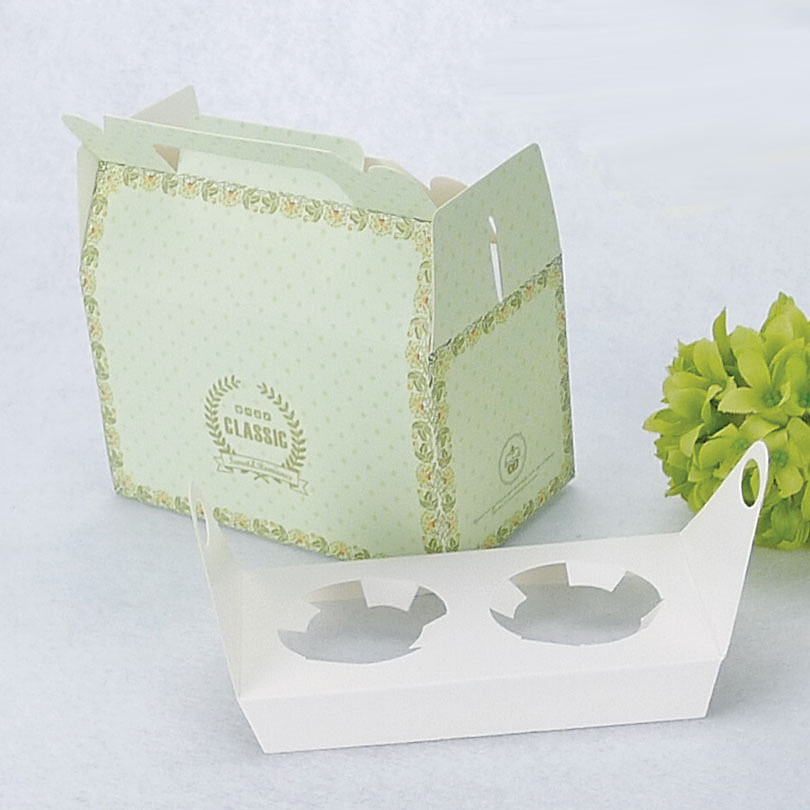 Cup Holder Cup Cake Box 2 Holder