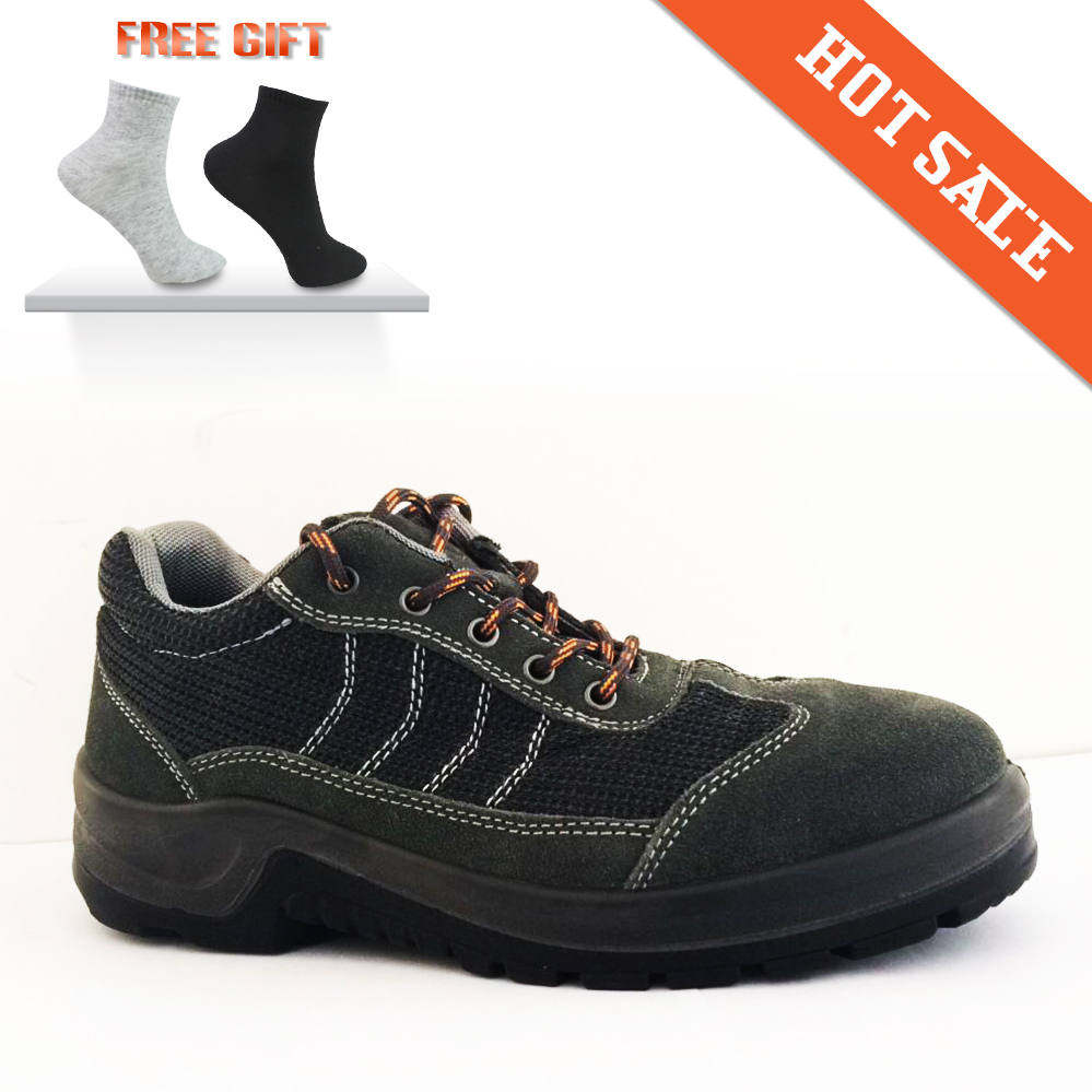 High Quality Protect Breathable Steel Toe Safety Shoes Outdoor Hiking Camping Safety Boots ...