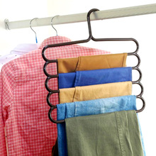 scarves/ties living Room Clothes storage Holders&racks 5 layers Hook Type pant hangers Multi-Function 5 colors Wk442(China (Mainland))