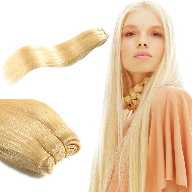 613 Brazilian Virgin Hair Straight Virgin Blonde Human Hair Weaves Brazilian Blonde Straight Hair Brazilian Hair Extension<br><br>Aliexpress