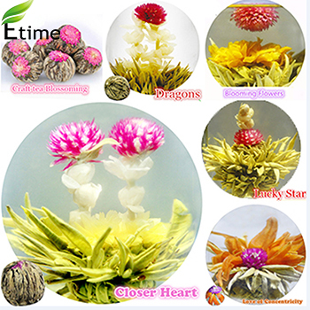 Гаджет  blooming tea Hot selling New Fashion Chinese Traditional 20 Different Flavors (1lot=20pcs) 100% Natural flower tea BLT001 None Еда