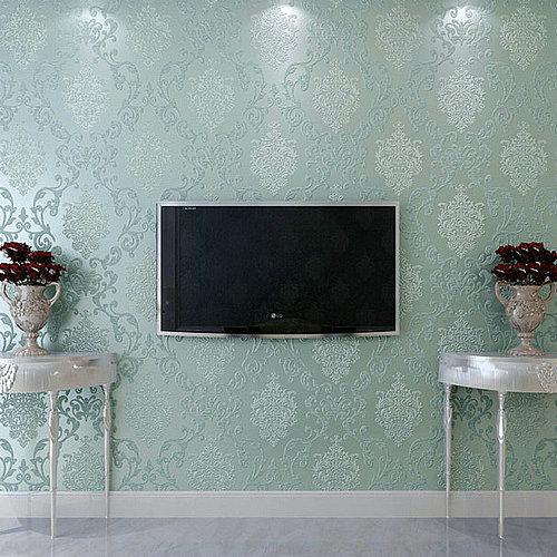 2015 new european nonwovens wallpaper 3d damascus for Wallpaper home 2015