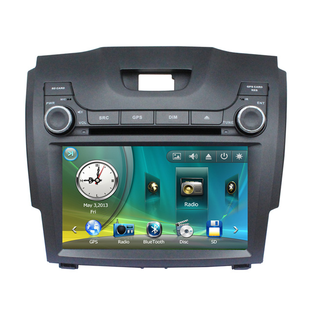 """Free Shipping 8"""" Car DVD Player GPS Navigation Central Multimedia for Chevrolet S10 SD USB RDS Phonebook Bluetooth Radio Ipod(China (Mainland))"""