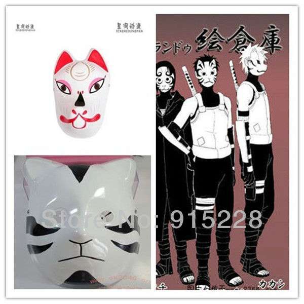 Kakashi Mask Buy Kakashi Anbu Cat Mask