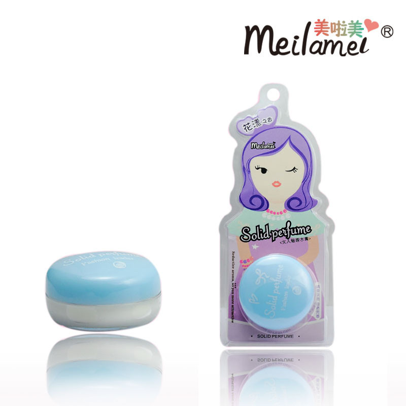 France 100% Original Perfume Solid Perfume And Fragrance Lavender Fragrance 15G Sexy Lady 2015 New Women Perfume(China (Mainland))