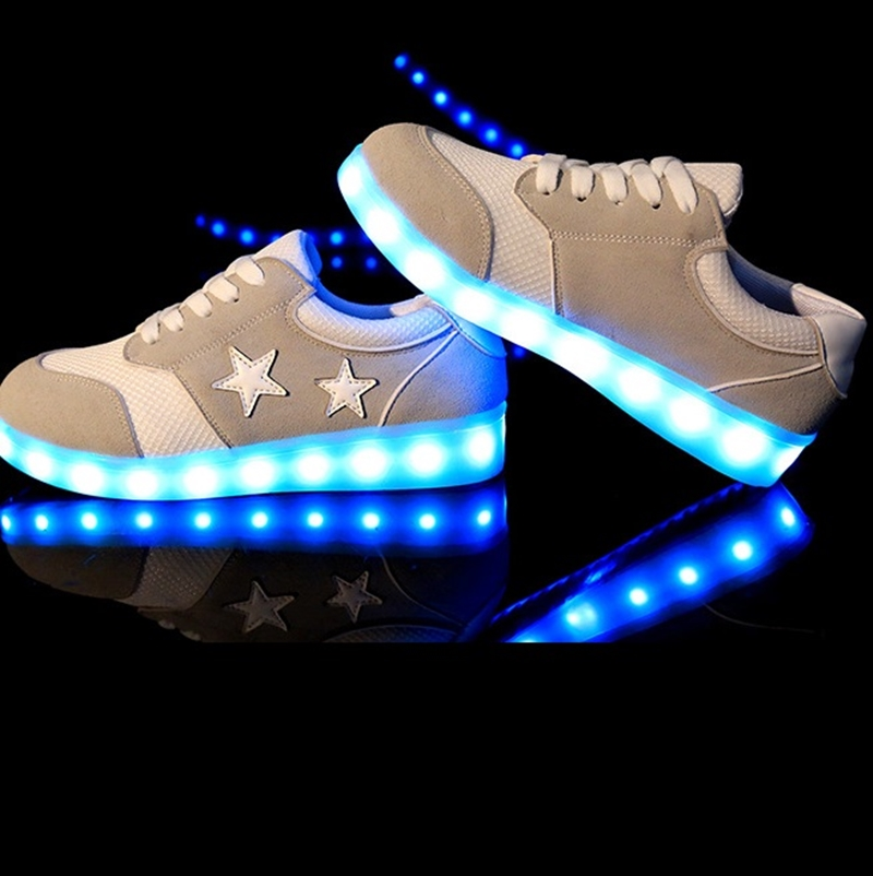 2015 Colorful Unisex Led Shoes With Lights Up Led Luminous Shoes Simulation Sole Led Shoes For Adults LSA2524<br><br>Aliexpress