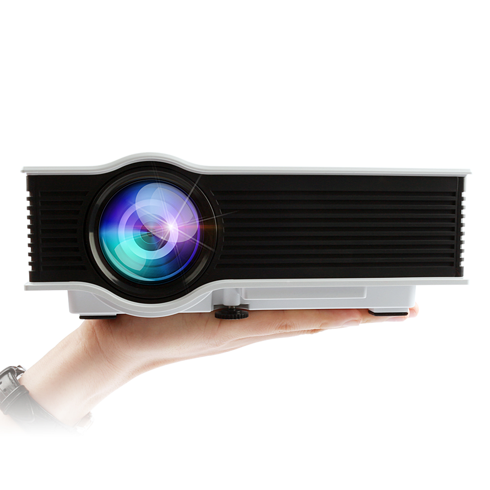 Mileagea UC40+ LED LCD Mini Projector 800 Lumens Full HD Home theater support HDMI AV USB SD portable Video business Proyector(China (Mainland))
