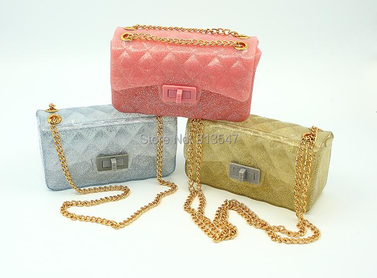 Brand Design Fashion Candy Color Jelly Bags Beach Silicone Women Messenger Transparent Handbag Cylinder Pillow Bag Shoulder Tote(China (Mainland))