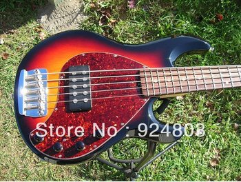 best electric guitar Ernie Ball Music Man StingRay 5 bass with case One Owner ! NICE !
