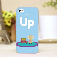 pz0004-i4-18-8 Cute Cartoon For Up Movie Poster Design cellphone transparent cover cases for iphone 4 5 5c 5s 6 6plus Hard Shell