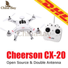 Cheerson CX-20 CX20 CX 20 Open Source Pathfinder With GPS 2.4G Professional RC Quadcopter Can Upgraded to FPV VS DJI Phantom 2(China (Mainland))