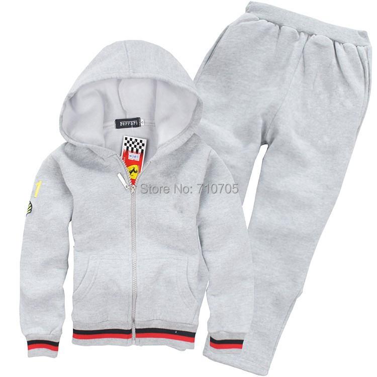 Бесплатная доставка одежда устанавливает мальчиков одежда девочек одежда пальто + брюки спорт пакет кардиган костюм девушки парни устанавливает 100% хлопок