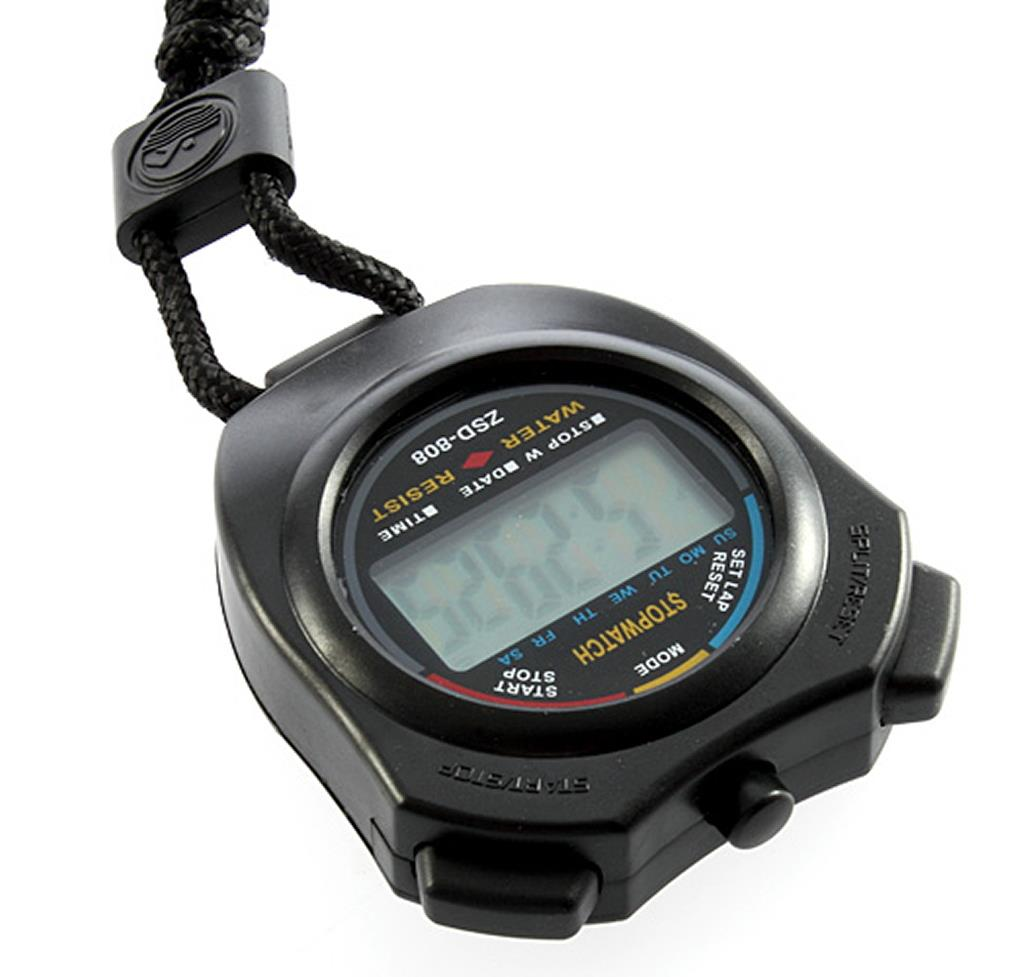 Гаджет  1pc Sports Stopwatch Professional Handheld Digital LCD Sports Stopwatch Professional Chronograph Counter Timer with Strap None Ювелирные изделия и часы