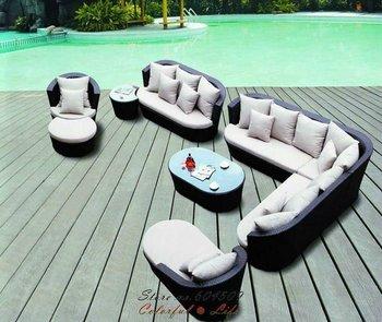 Outdoor Garden PE Rattan Furniture,YSF-N076,OEM